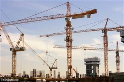 Commercial property construction down across UK in May