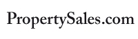 High quality black on white PropertySales.com logo