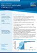 Real Estate Investment Forecasts, Q2 2012