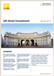 UK Hotel Investment, Spring 2012