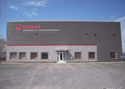 Warehouse building currently home to Veolia