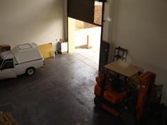 Double volume warehouse