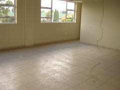 Tiled, airconditioned offices